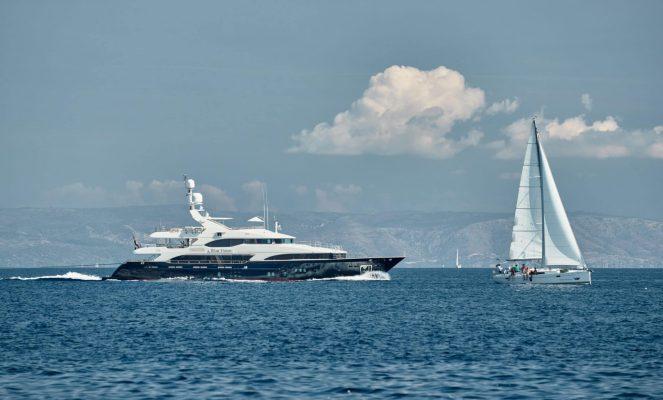 Croatia,,Adriatic,Sea,,17,September,2019:,The,Race,Of,Sailboats,